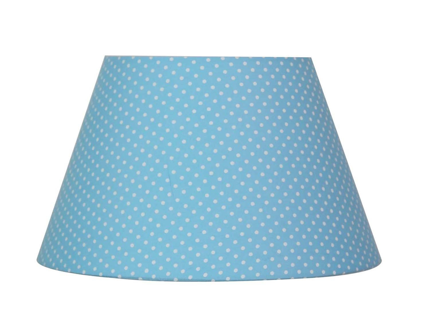 Абажур Lamplandia 7797-2 blue with white dots