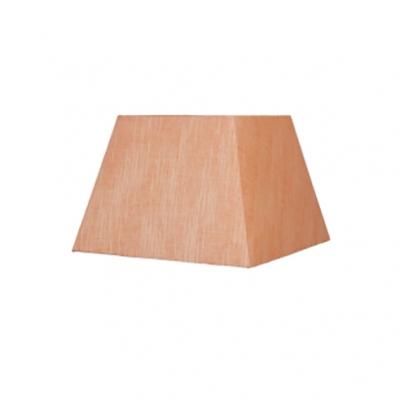 Абажур Lamplandia 7811-3 pyramid wild silk orange