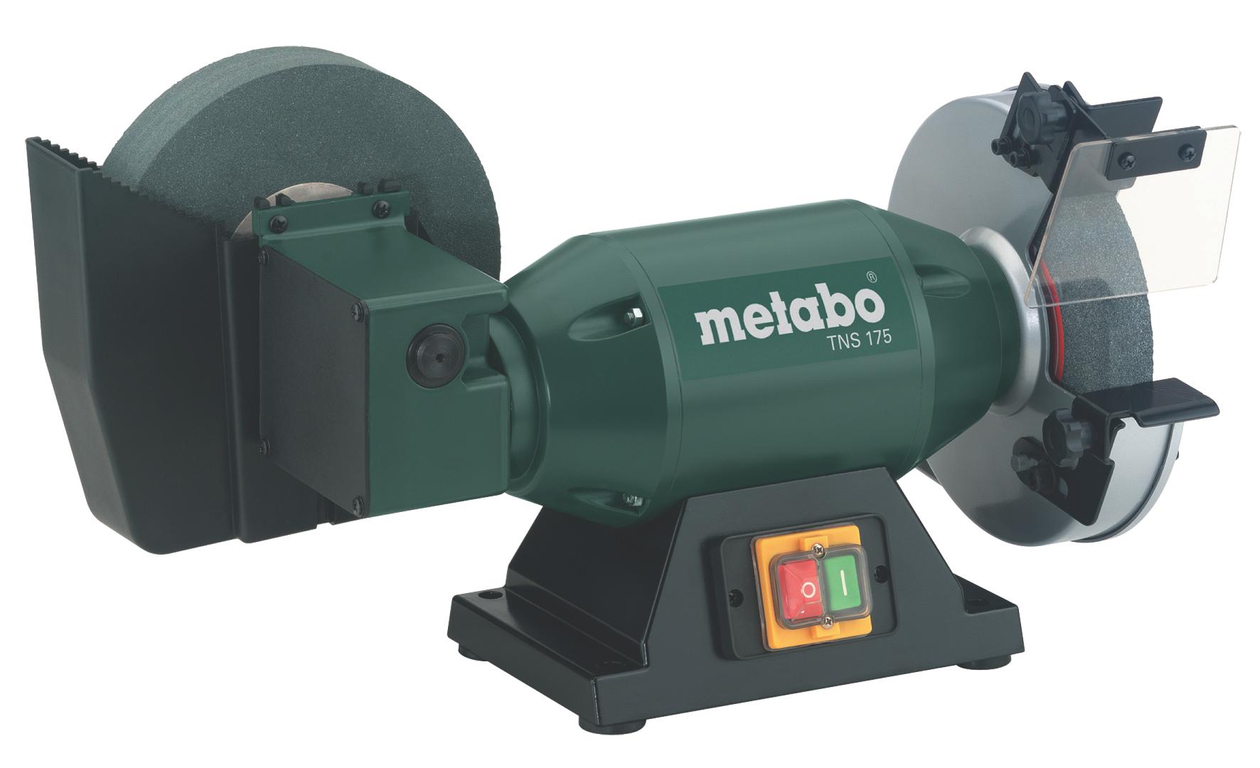 Точило с редуктором и охлаждением Metabo Tns 175