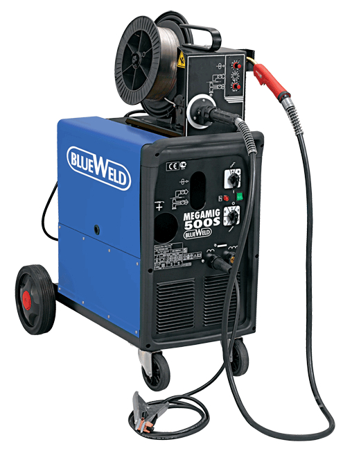 Сварочный полуавтомат Blue weld Megamig 500s