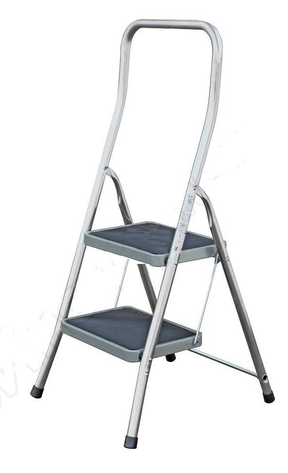 Лестница алюминиевая складная Krause Toppy 130860
