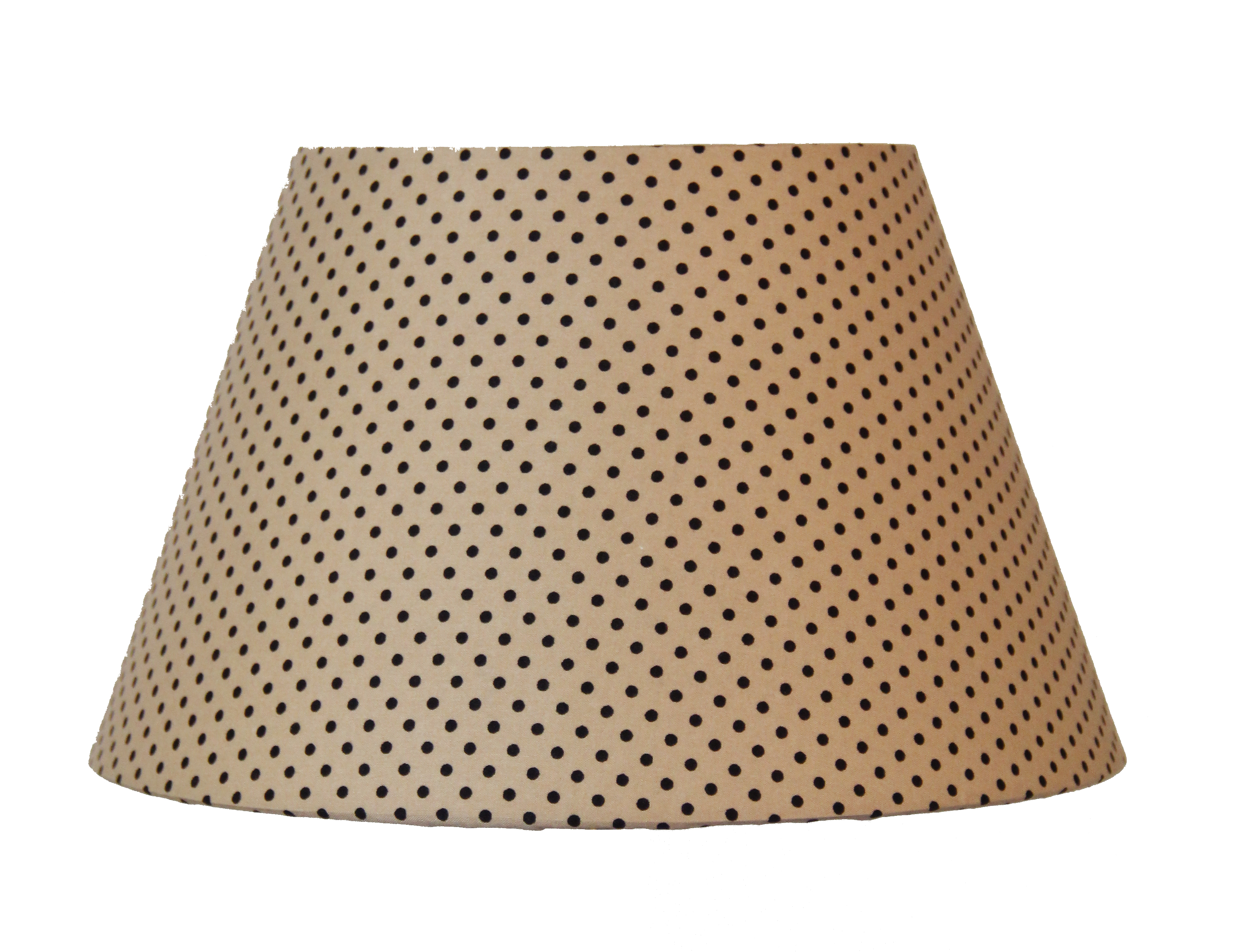Абажур Lamplandia 7801-2 beige with black dots