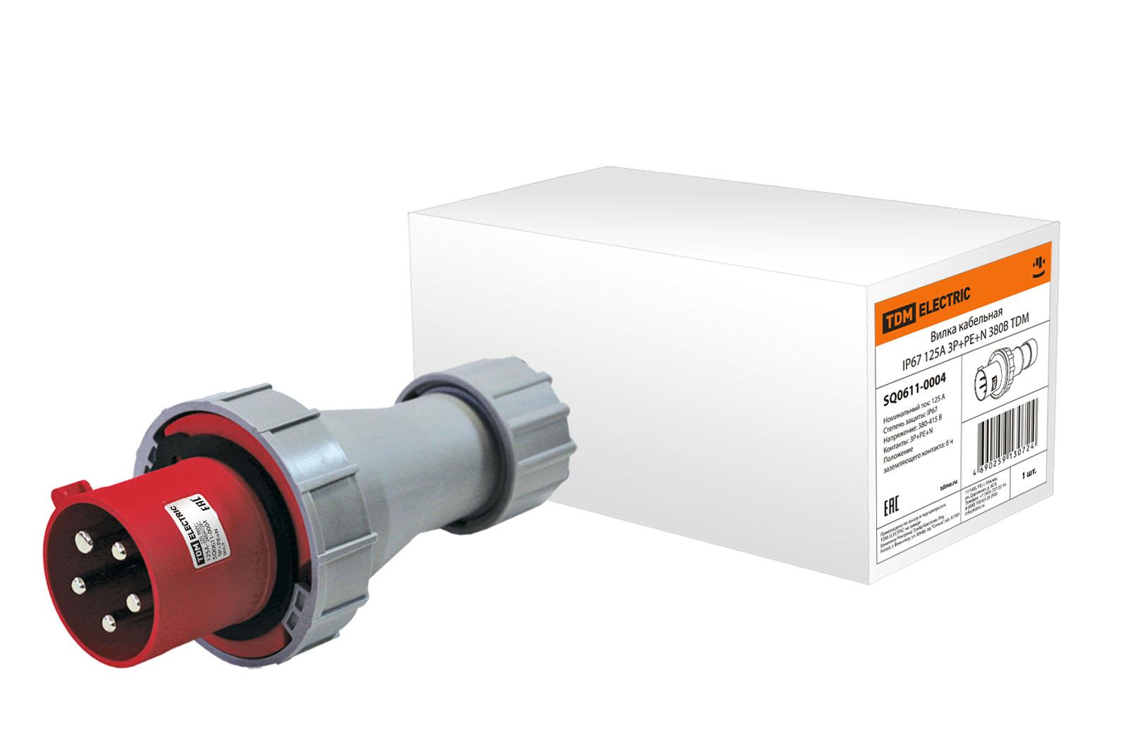 Вилка кабельная ТДМ Sq0611-0004