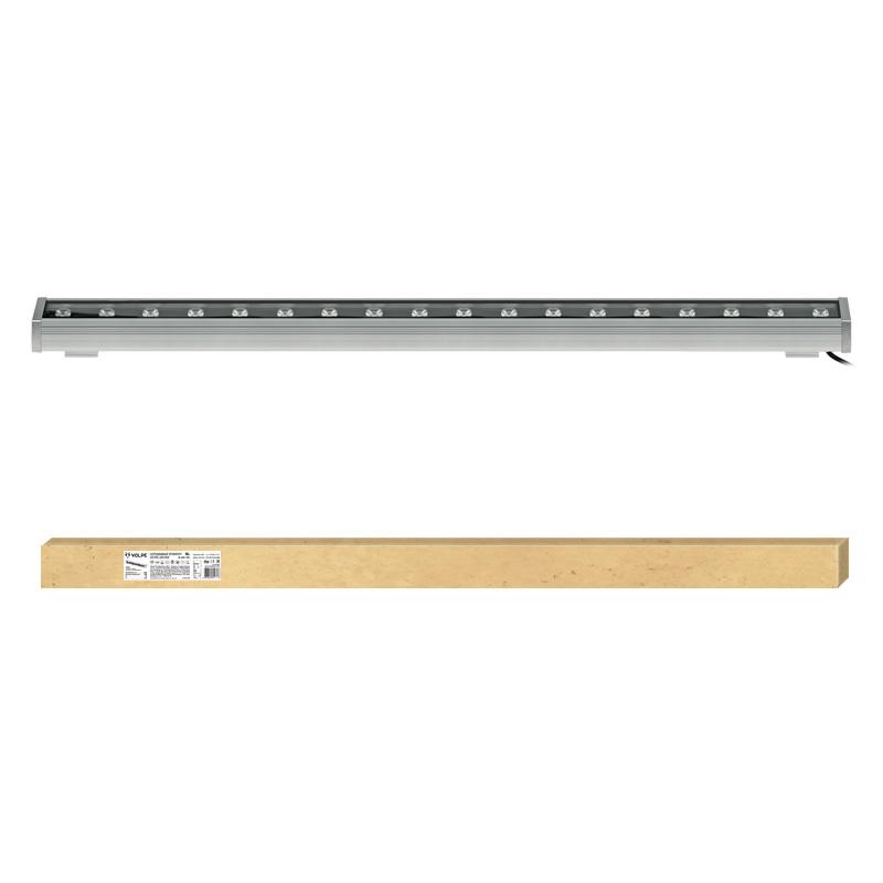 Прожектор светодиодный Volpe Ulf-q552 18w/ww ip65 silver