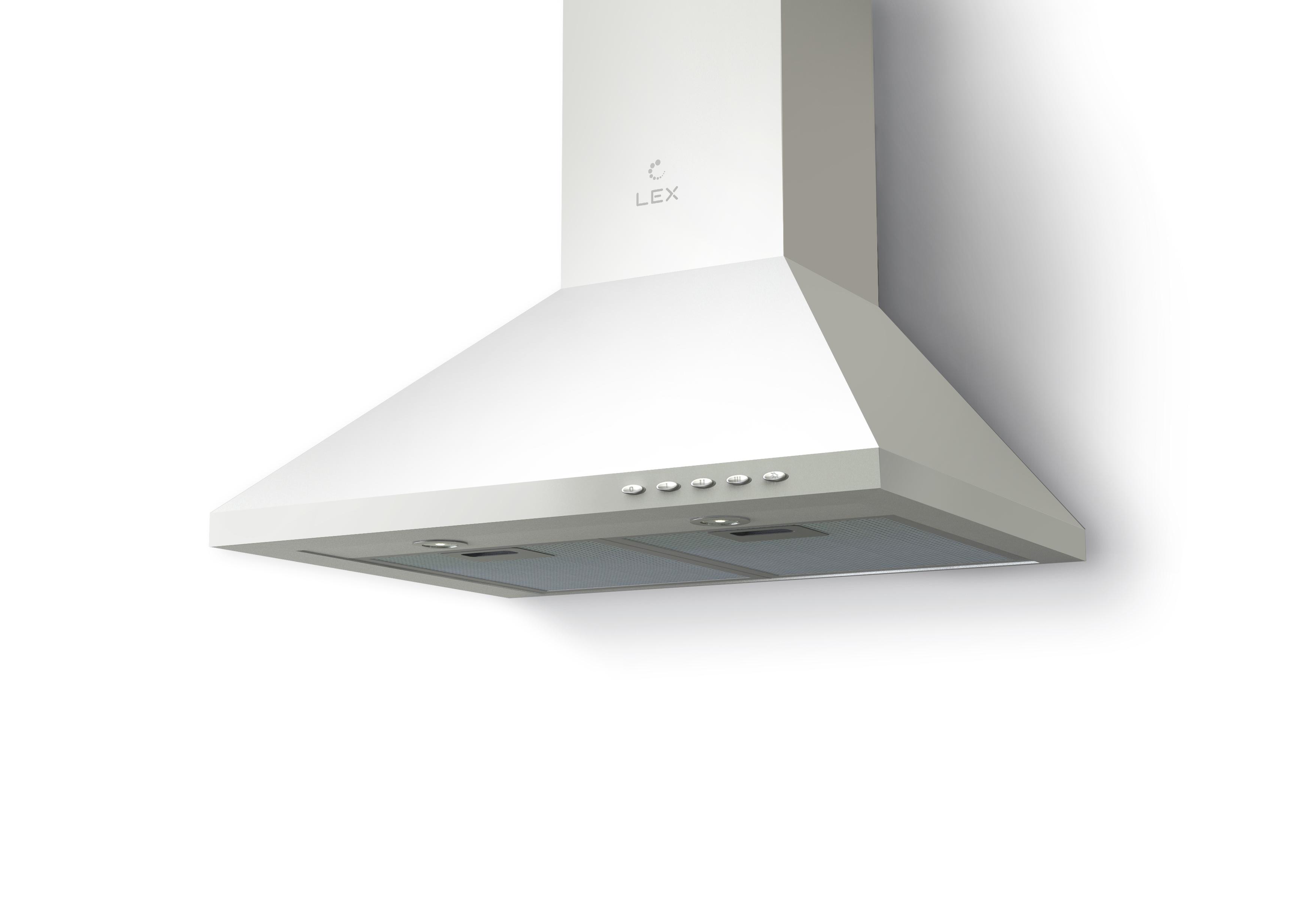 Вытяжка Lex Biston eco 600 white