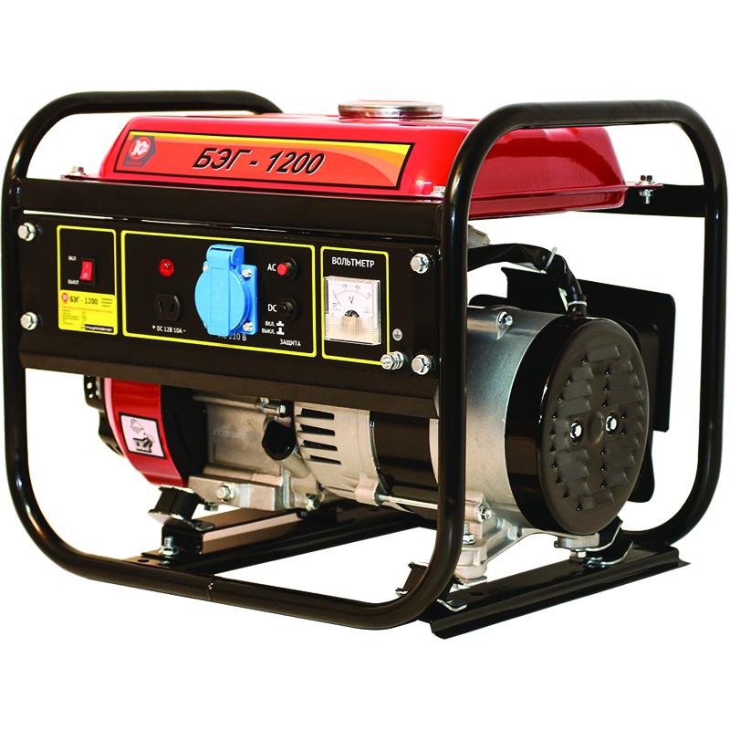 Бензиновый генератор КАЛИБР БЭГ-1200