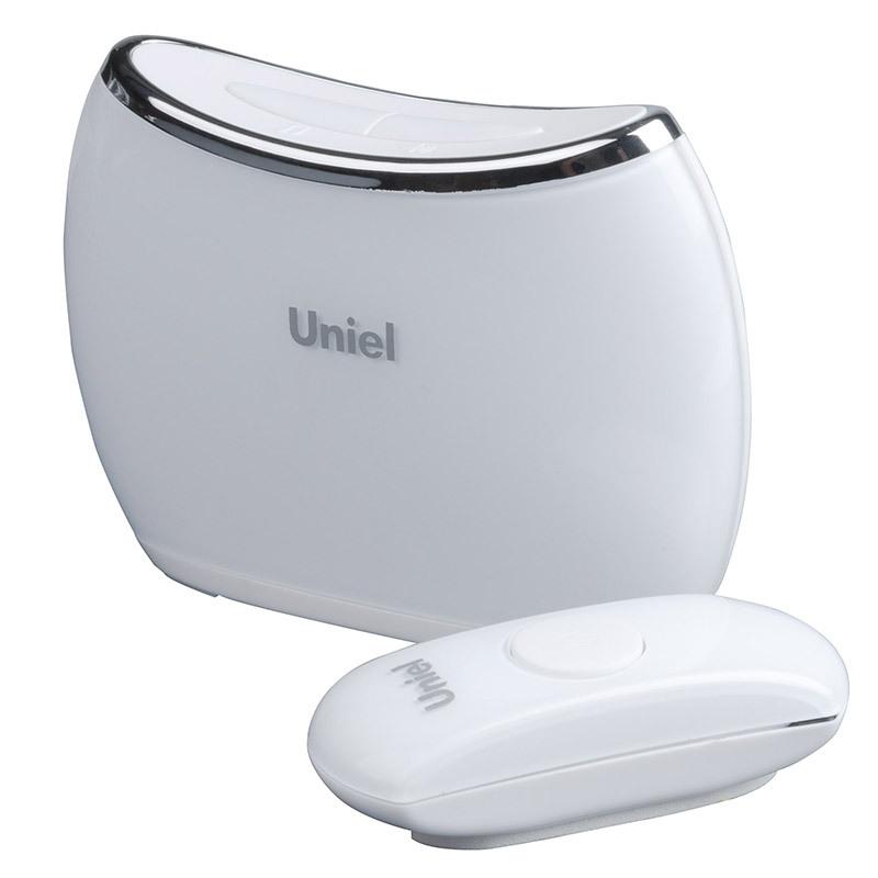 Звонок Uniel Udb-009w-r1t1-32s-150m-wh