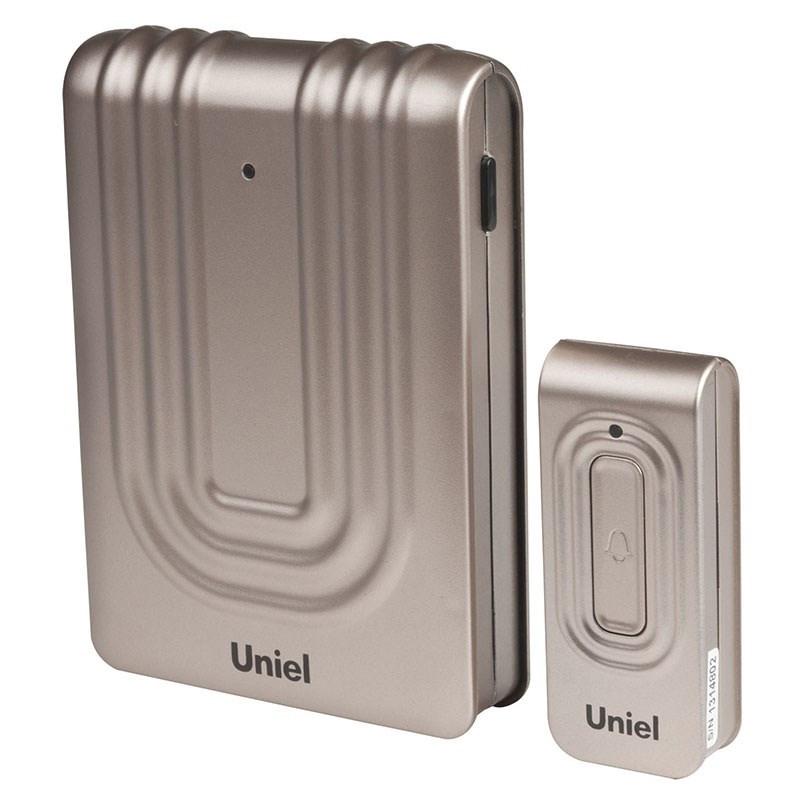 Звонок Uniel Udb-010w-r1t1-32s-150m-ch