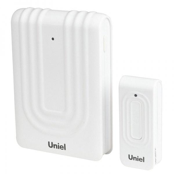 Звонок Uniel Udb-010w-r1t1-32s-150m-wh