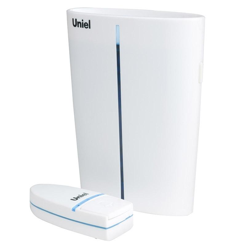 Звонок Uniel Udb-011w-r1t1-32s-150m-wh
