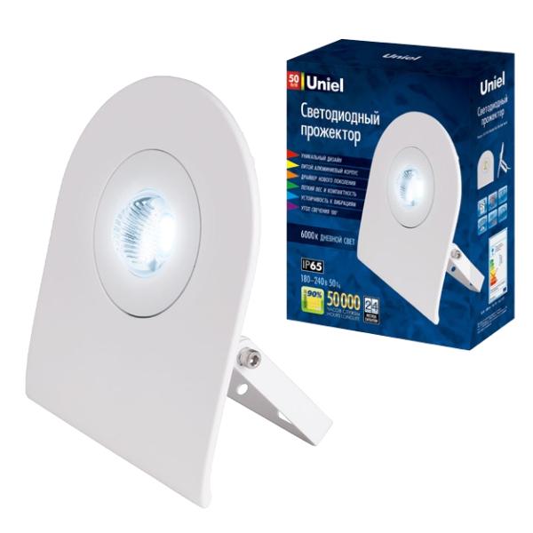 Прожектор светодиодный Uniel Ulf-f10-50w/nw