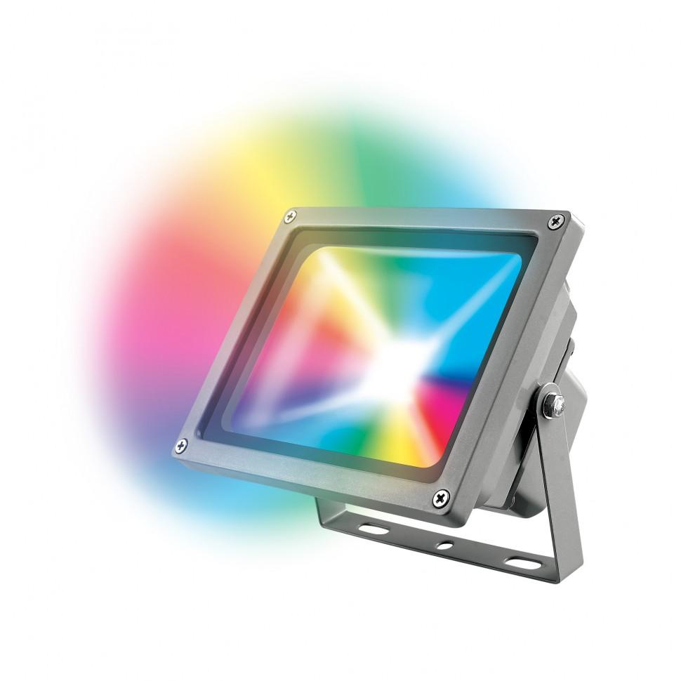 Прожектор светодиодный Uniel Ulf-s01-30w/rgb/rc