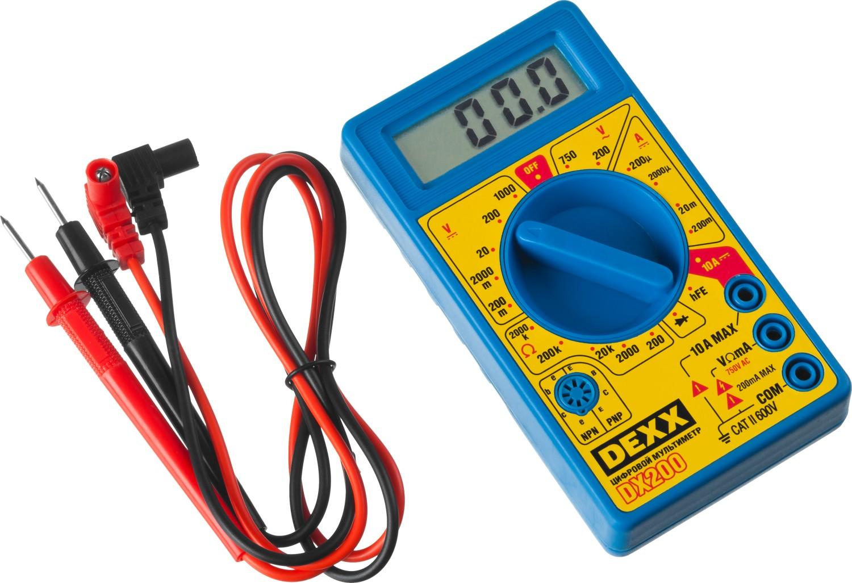 Мультиметр Dexx 45300