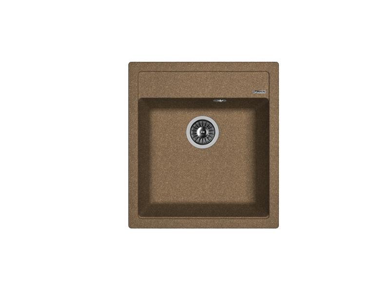 Мойка кухонная Florentina Липси-460 коричневый