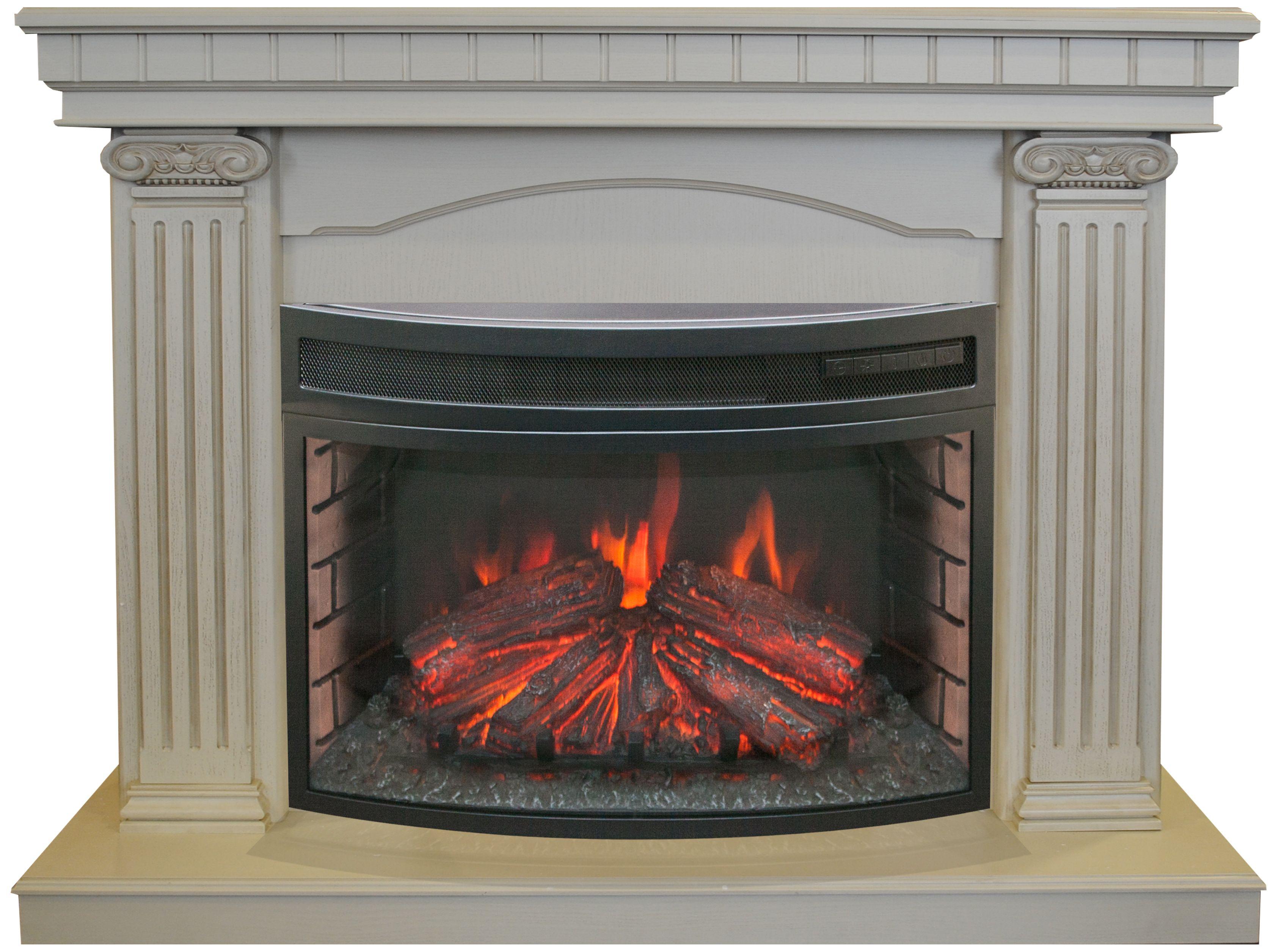 Электрокамин Real flame Rosa 25 + firefield 25 s ir