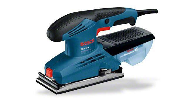 Машинка шлифовальная плоская (вибрационная) Bosch Gss 23 a
