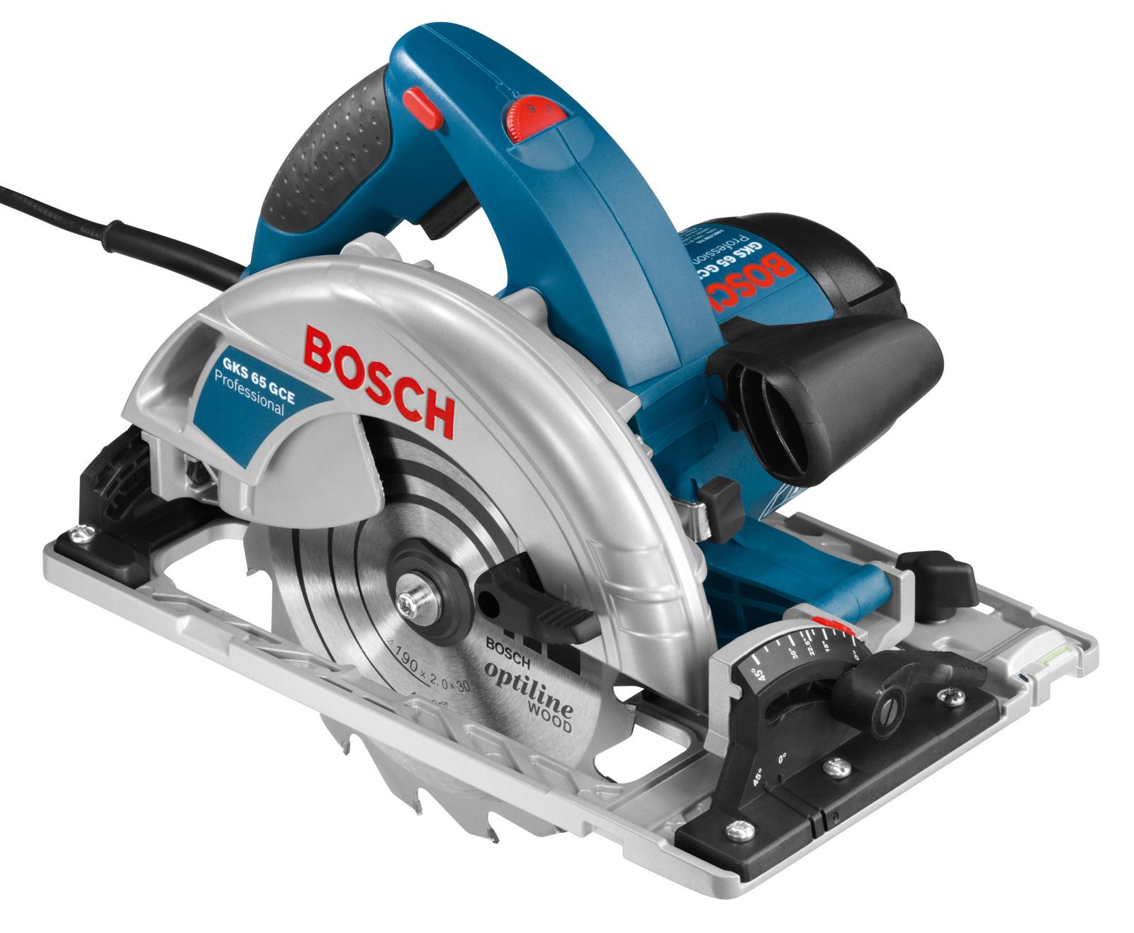 Пила циркулярная Bosch Gks 65 gce