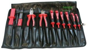 Фото. Набор инструментов для электрика 10 предметов Haupa 220014