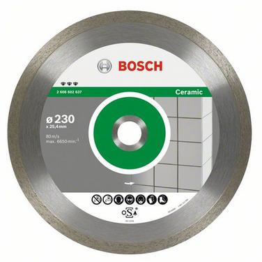Круг алмазный BOSCH Best for Ceramic  200 Х 25.4 корона (сплошной)