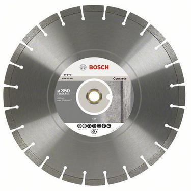Круг алмазный BOSCH Expert for Concrete  350 Х 20/25.4 сегмент