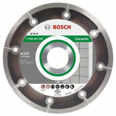 Круг алмазный BOSCH Best for Ceramic Extraclean  115 Х 22 корона (сплошной)