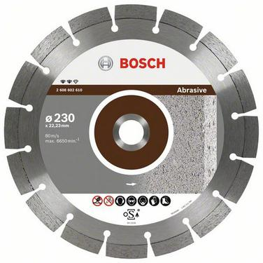 Круг алмазный BOSCH Expert for Abrasive  350 Х 20/25.4 сегмент