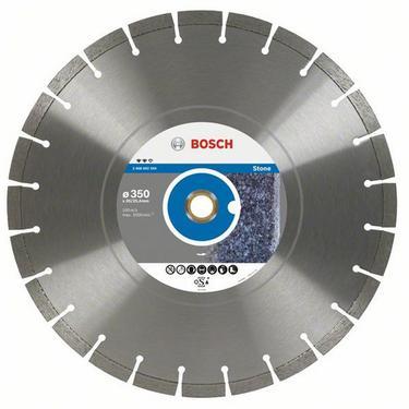 Круг алмазный BOSCH Expert for Stone  350 Х 20/25.4 сегмент