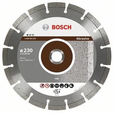 Круг алмазный BOSCH Standard for Abrasive  230 Х 22 сегмент