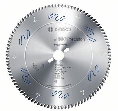 Диск пильный твердосплавный BOSCH Top Precision Best for Wood  250 X 80 X 30