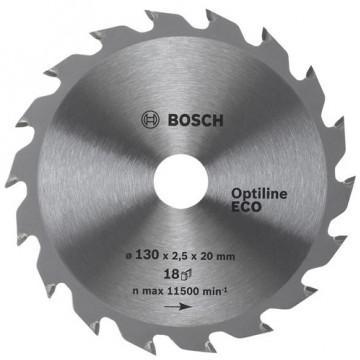Диск пильный твердосплавный BOSCH Optiline ECO  190 X 24 X 20/16