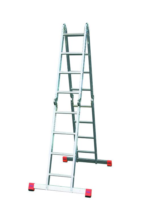 Лестница алюминиевая приставная Krause Multimatic 120649