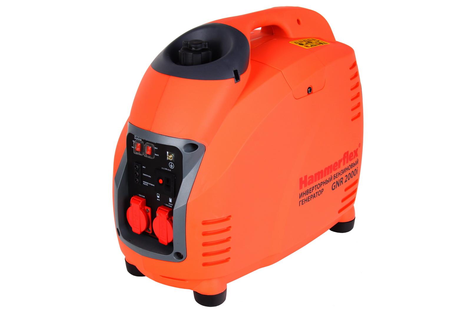 Бензиновый инверторный генератор Hammer Gnr2000i