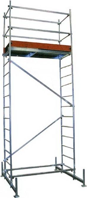 Вышка тура алюминиевая передвижная Krause Climtec 710130