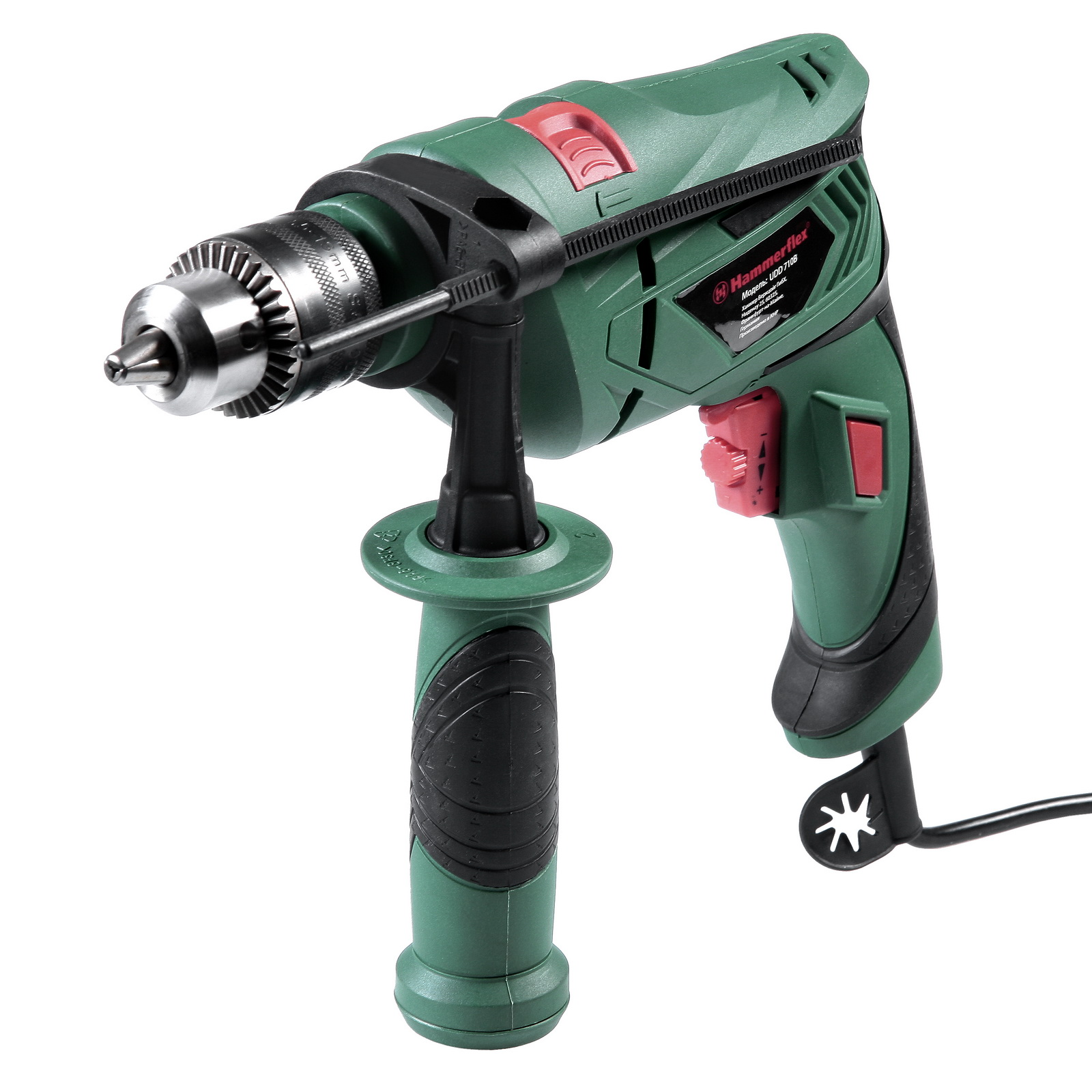 Дрель ударная Hammer Udd710b  (111-015)