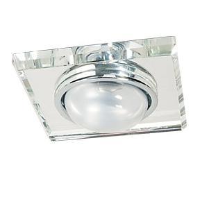 Светильник встраиваемый АКЦЕНТ Crystal 301 хром/прозрачный