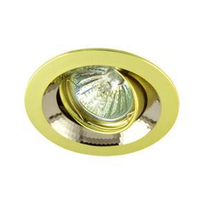 Светильник встраиваемый АКЦЕНТ 11159bq жемчужное золото/хром