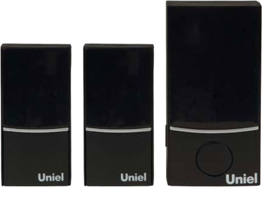 Звонок Uniel Udb-090w-r1t2-32s-100m-bl