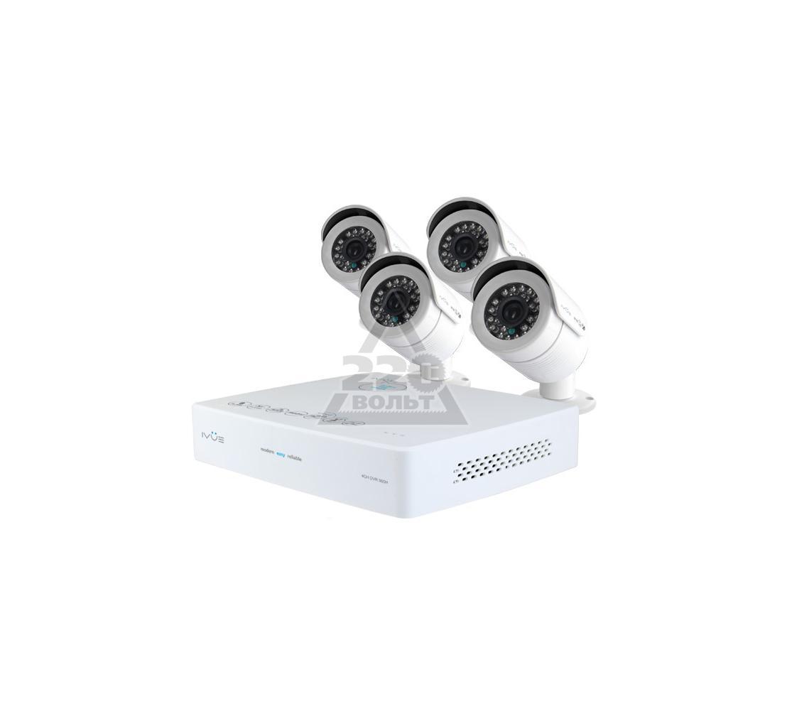 Комплект видеонаблюдения IVUE 6004K-CK20-1099ICR-1Tb