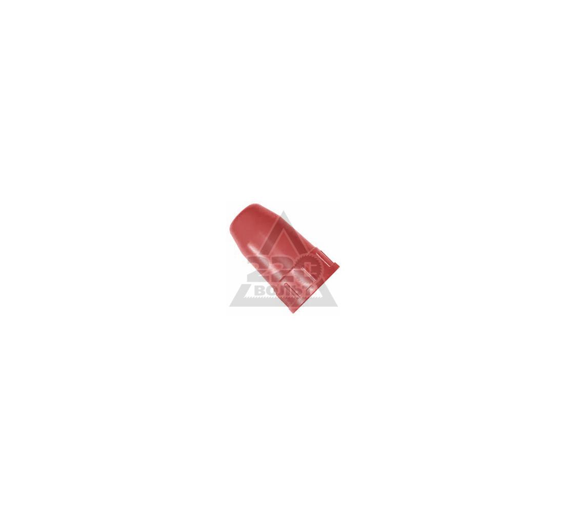 Колпак для баллона КОРД 40л металл красн.