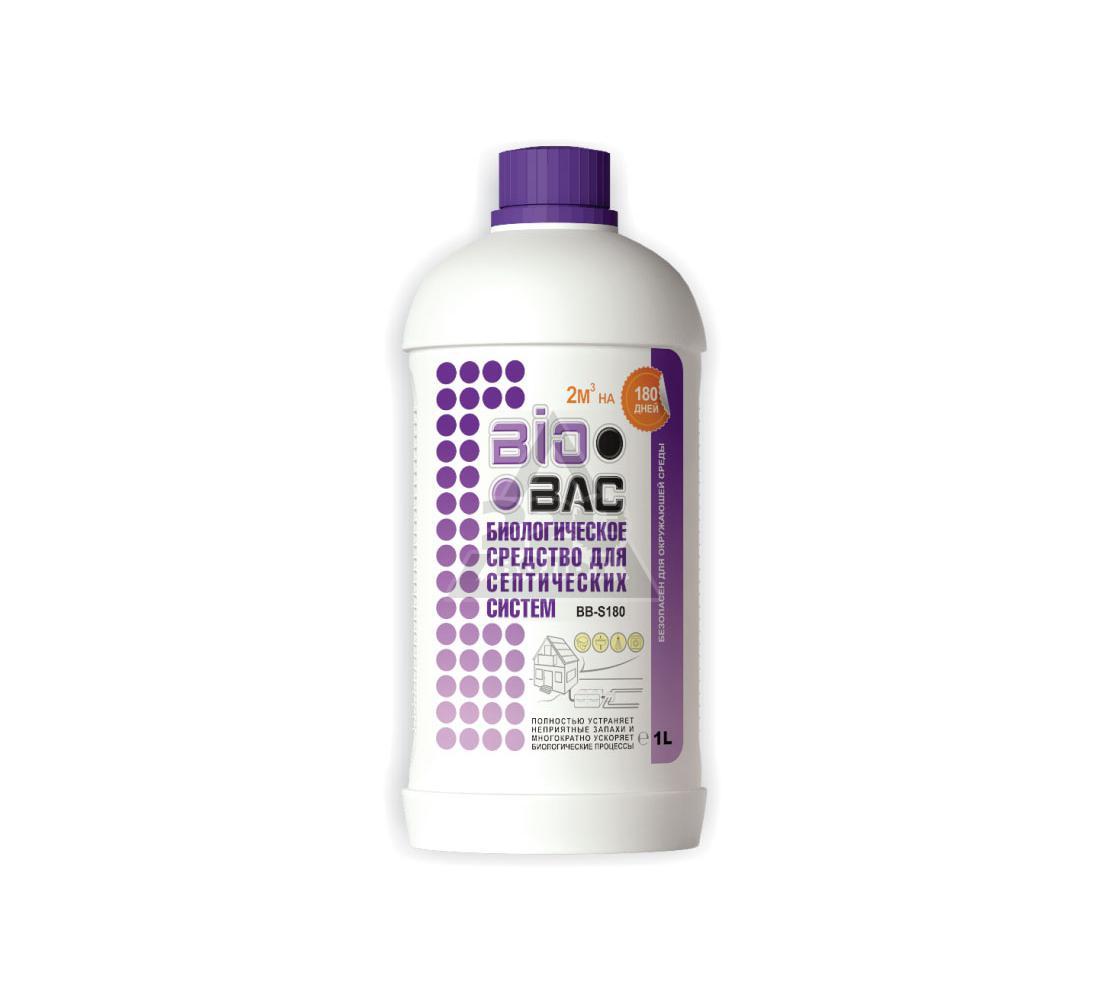 Биоактиватор, бактерии для септиков БИОБАК BB-S180