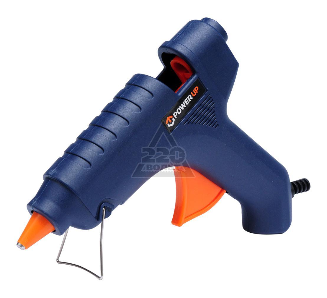Пистолет клеевой POWER UP 73057