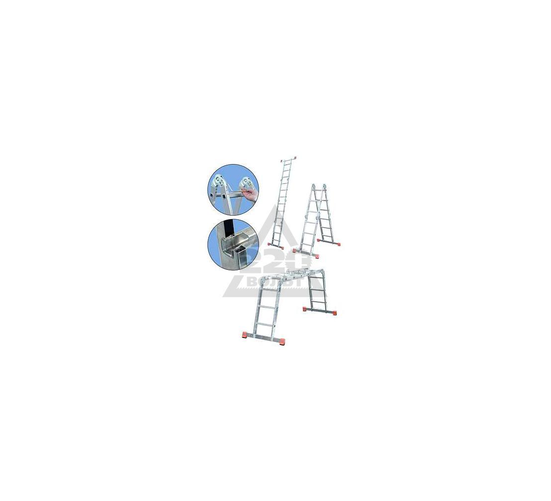 Лестница алюминиевая складная KRAUSE MULTIMATIC 4х3