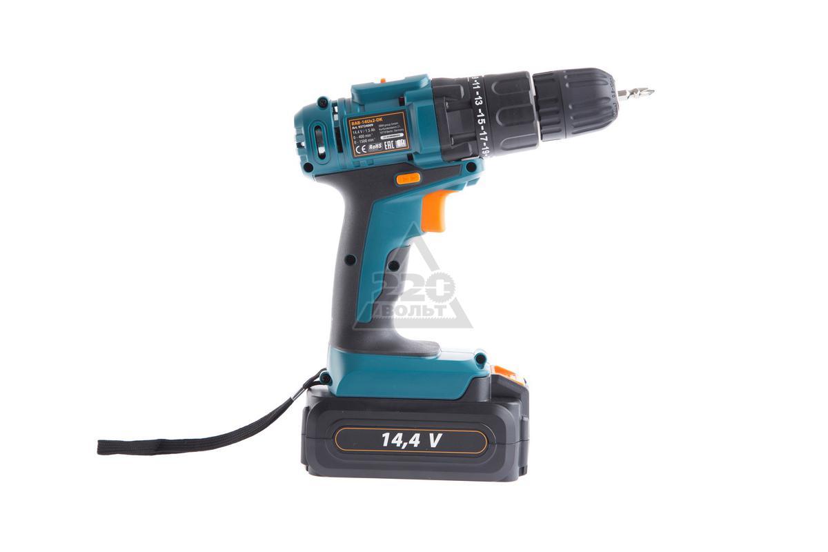 Дрель аккумуляторная Bort BAB-14Ux2-DK - купить, цена, отзывы: 16, видео, инструкция и фото в интернет-магазине 220 Вольт
