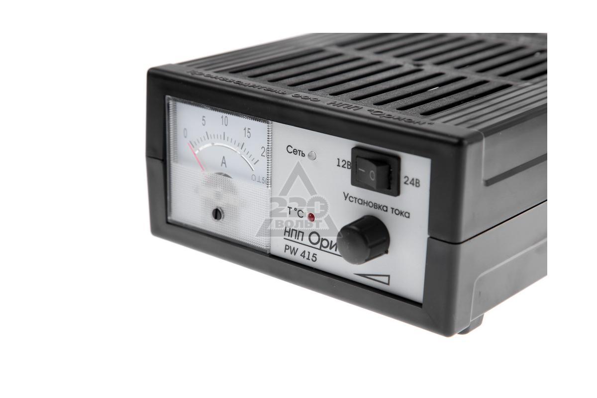 зарядное устройство орион pw415 инструкция и схема