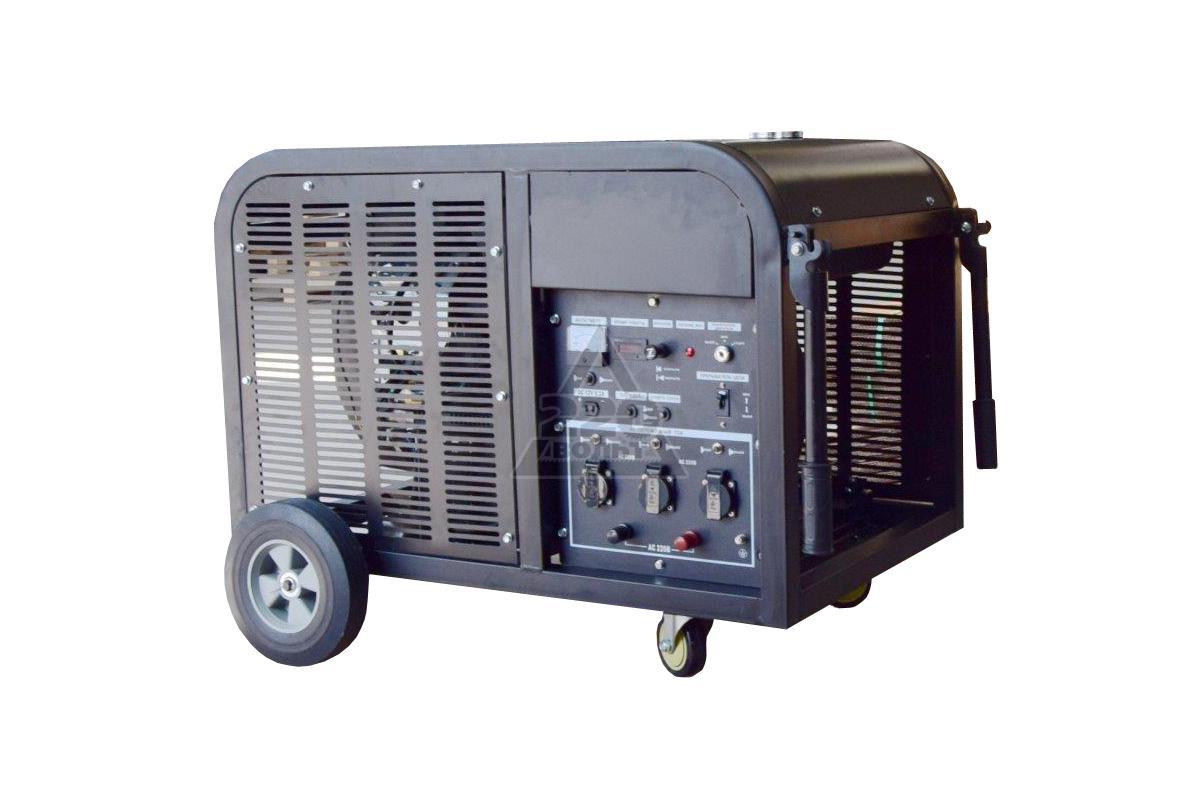 Brushless generator schematic