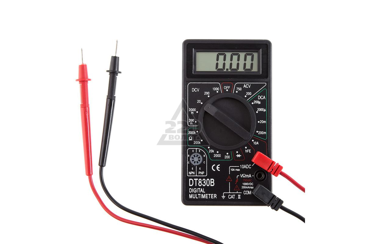 multimetr dt-830b digital multimeter схема