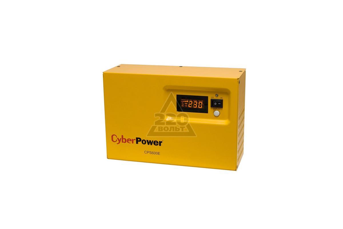 220 Вольт - Источник бесперебойного питания CYBER POWER CPS 600E БЕЗ АКК. - купить в Сахалинской области цена ниже розничной, фо