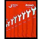 Набор комбинированных гаечных ключей в чехле, 8 шт. JETECH COM-S8