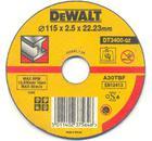 Круг отрезной DEWALT 115 X 2.5 X 22