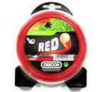 Леска для триммеров OREGON Roundline RED 1.3мм*015м